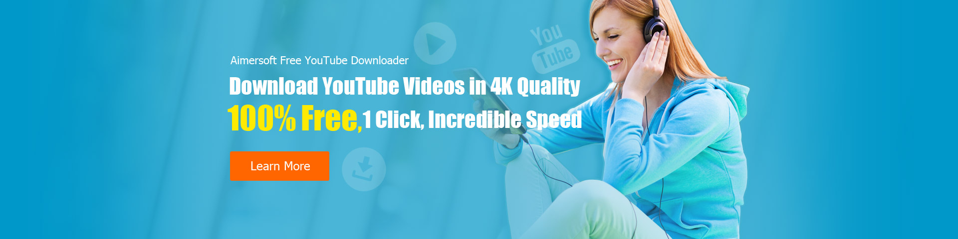 Aimersoft Free YouTube Downloader