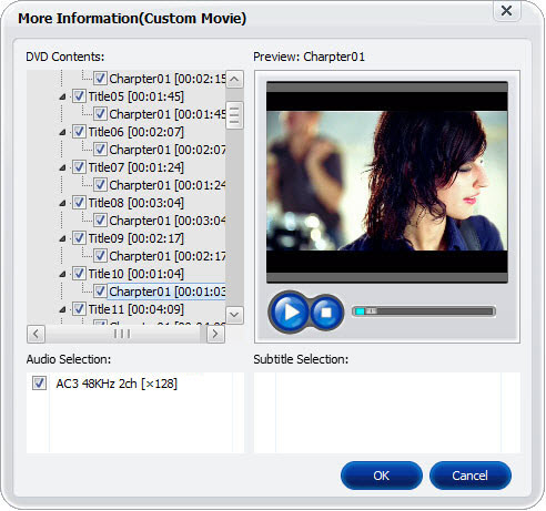 aimersoft dvd copy custom