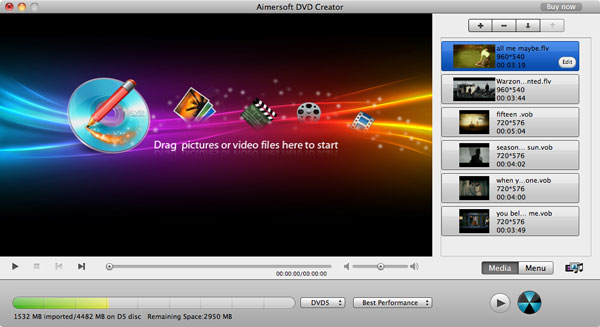 import avi to DVD converter on mac