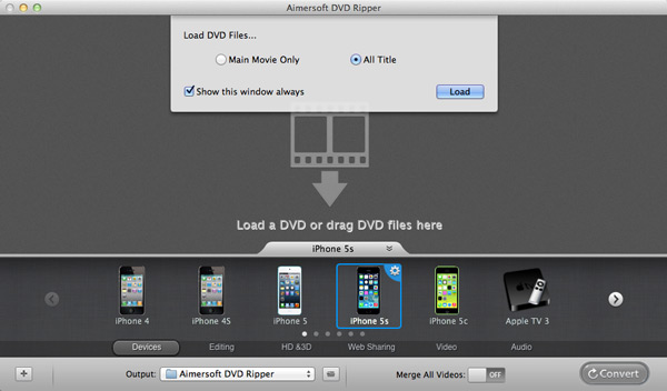 load dvd to ipad converter