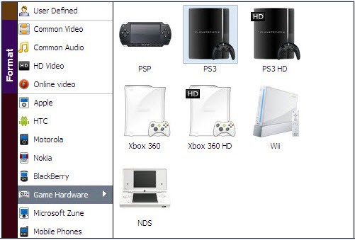 convert itunes movie to ps3