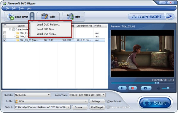 convert ISO to MP4